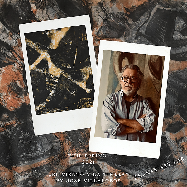 """The exhibition """"El viento y la tierra"""" by José Villalobos"""