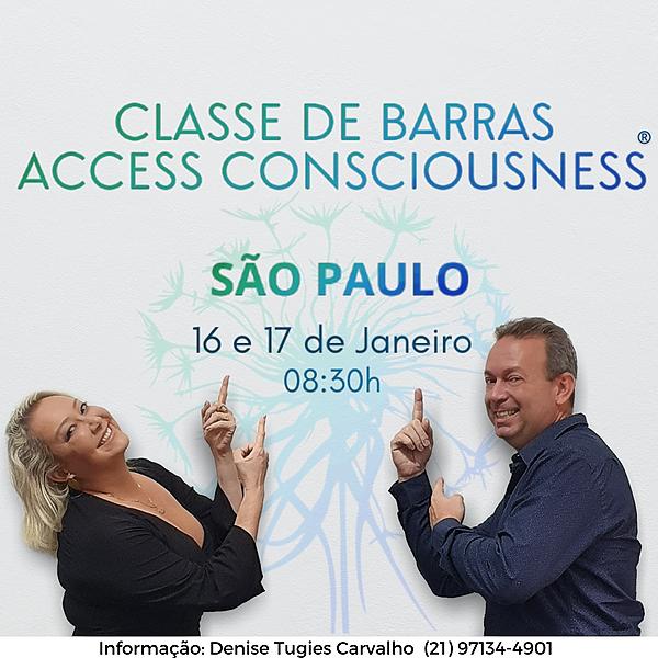 Classe de Barras de Access com os Rondellis- 16/01- São Paulo