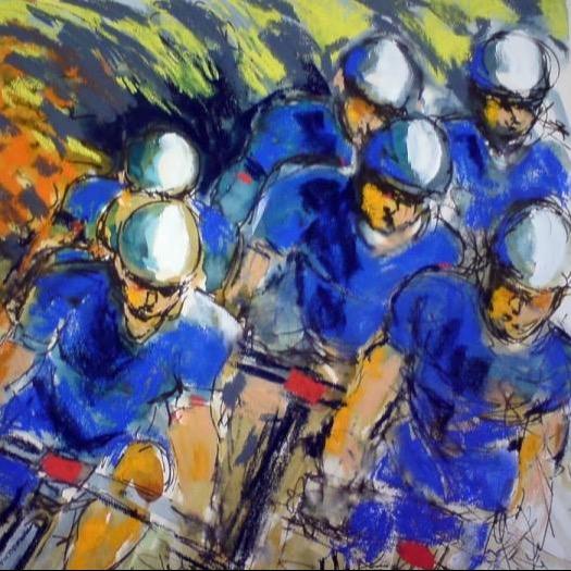 Maxine Dodd Art - Racing Lines