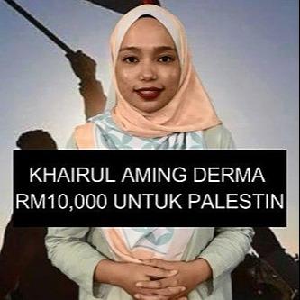 @sinar.harian Khairul Aming derma RM10,000 untuk Palestin Link Thumbnail | Linktree