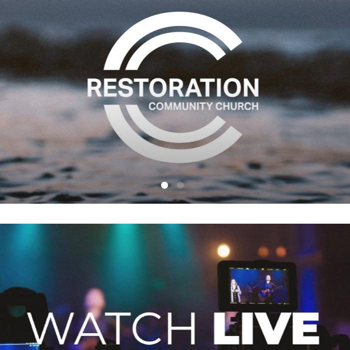 @MerrittGrothe Restoration Community Church - Online Services Link Thumbnail | Linktree