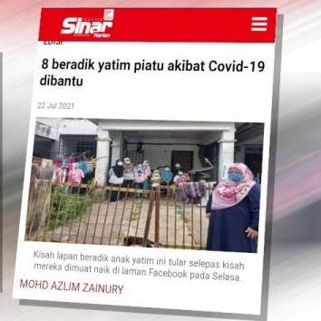 @sinar.harian Lapan beradik yatim piatu akibat Covid-19 ditawar RRP Link Thumbnail | Linktree