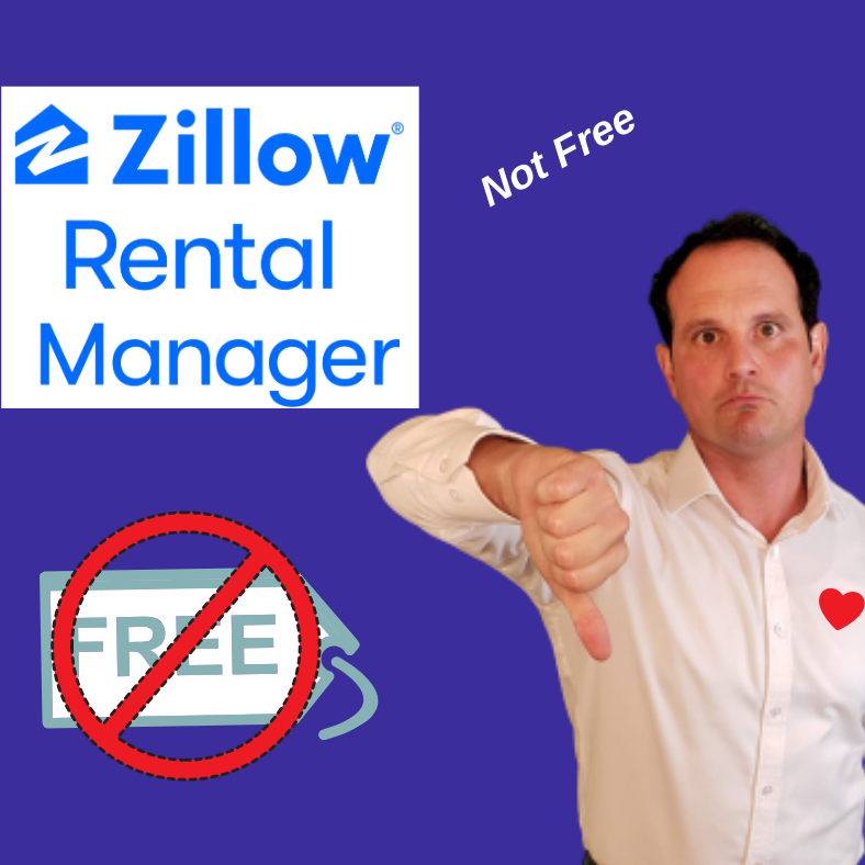 Zillow Rental Manager is no longer free for landlords!!!