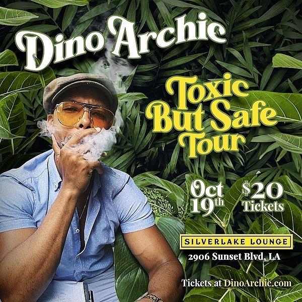 Dino Archie LA SHOW SILVERLAKE LOUNGE OCT 19 Link Thumbnail | Linktree