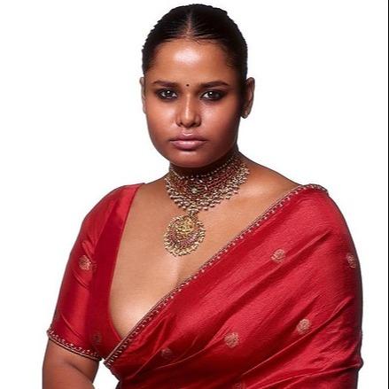 Sabyasachi Model Varshita Thatavarthi Redefining the Dynamics of Beauty Standards