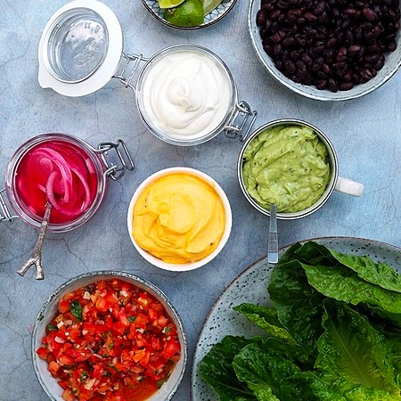 ceciliafolkesson.se Vegan Taco Link Thumbnail | Linktree
