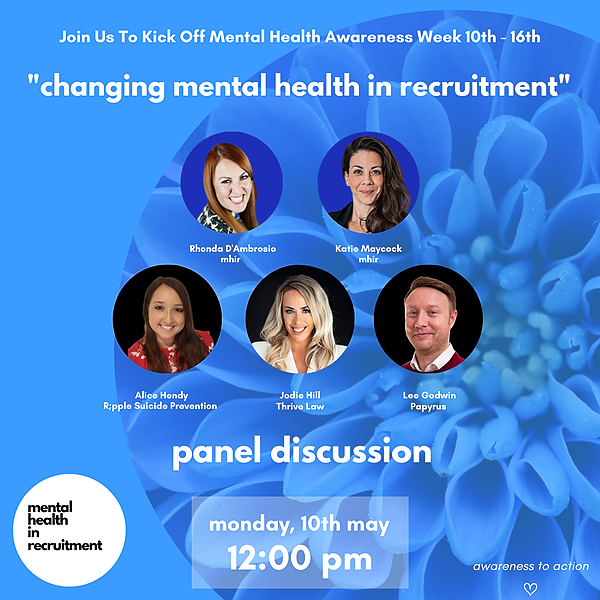 @mhir MHAW Changing Mental Health In Recruitment Link Thumbnail   Linktree
