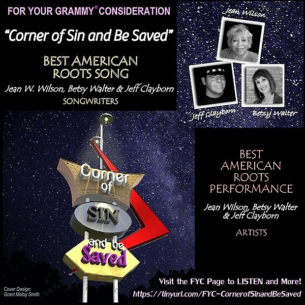 Betsy Walter FYC - Corner of Sin and Be Saved - FOR YOUR GRAMMY® CONSIDERATION  Link Thumbnail   Linktree