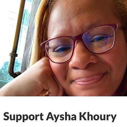 @AyshaKhouryMD GoFundMe: Support Aysha Khoury Link Thumbnail | Linktree