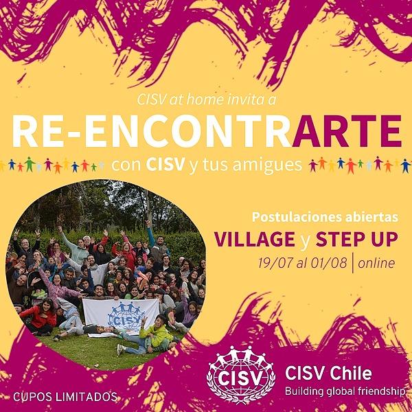 @cisvchile Postulaciones Campamentos CISV at Home Link Thumbnail | Linktree