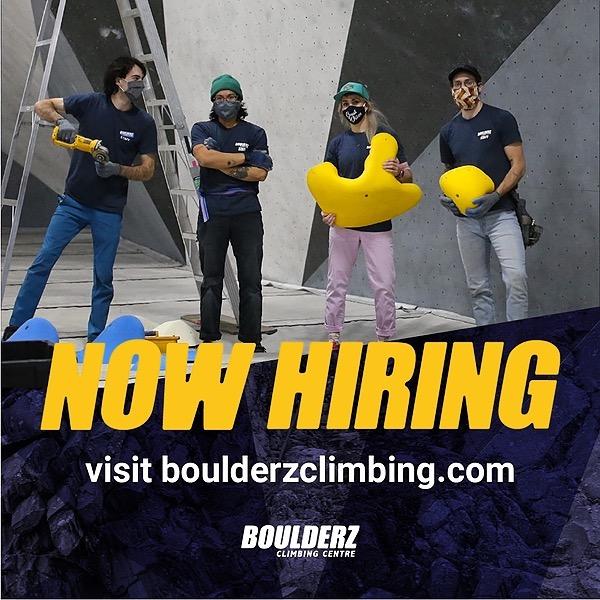 Boulderz Climbing Centre Boulderz is Now Hiring! Link Thumbnail   Linktree