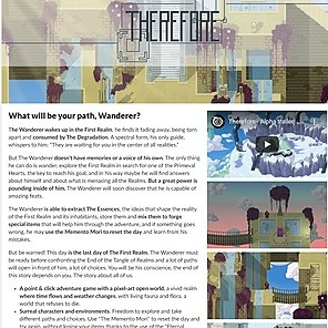Therefore videogame (demo) download link -Itch.io-
