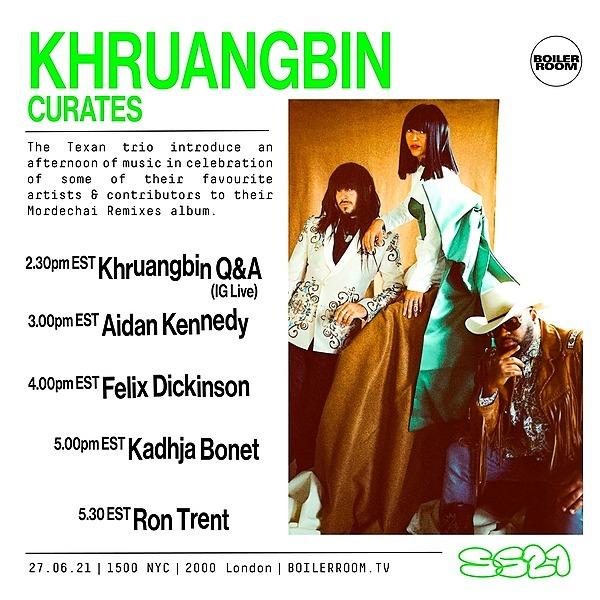 @khruangbin Boiler Room: Khruangbin Curates Link Thumbnail | Linktree