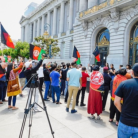 @UAAafghans SF Worldwide Protest Volunteer Signup form Link Thumbnail | Linktree