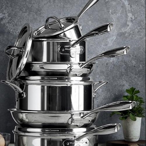 Megan BSNRN @megsnolia All-Clad Cookware Link Thumbnail | Linktree