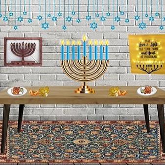 @RebeccaAllgeier Hanukkah Link Thumbnail | Linktree