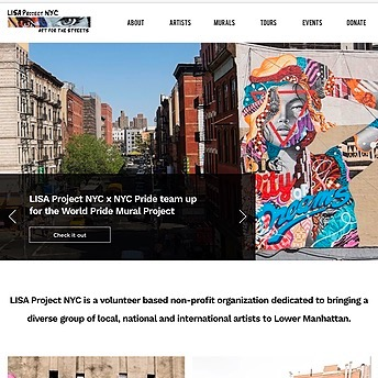 @LisaProjectNYC Website Link Thumbnail | Linktree