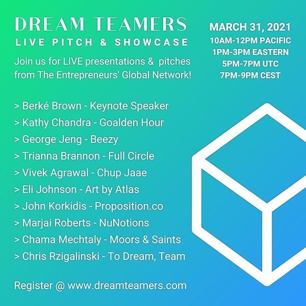 Dream Teamers Keynote & Event
