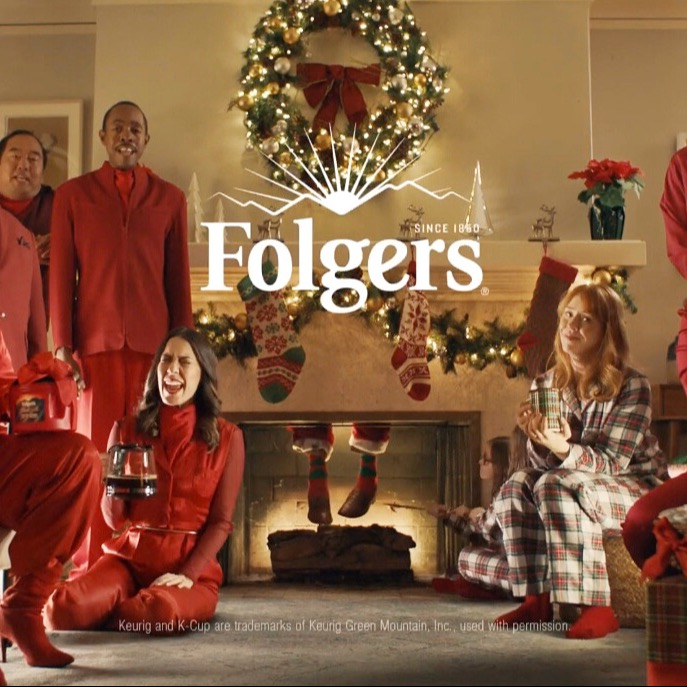 Folgers Commercial: Chimney Hole