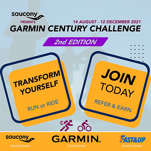 Indian Runners Garmin Century Challenge Link Thumbnail | Linktree