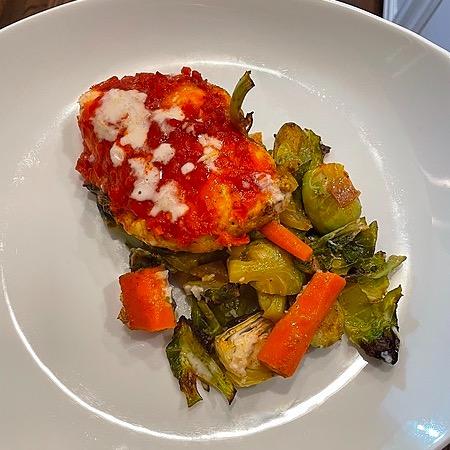 @amysmealdeal Sheet Pan Harissa Chicken + Veggies w/Lemon Aioli - @thedefineddish Link Thumbnail | Linktree