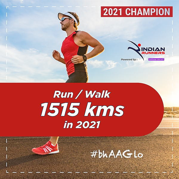 @IndianMarathon Run 1515 Kms in 2021 Link Thumbnail | Linktree