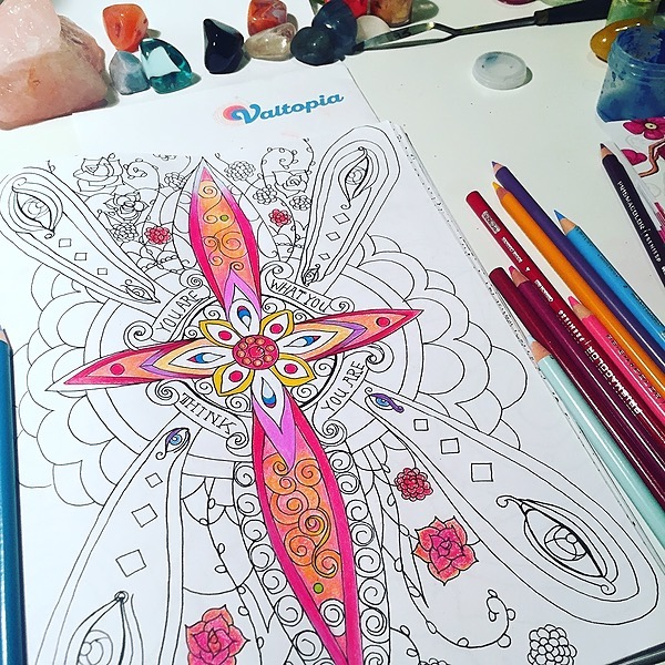@valtopia #1 Best Selling Coloring Book Link Thumbnail   Linktree