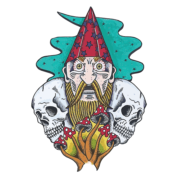 "Crypt Monarch Order ""The Necronaut"" via The Cosmic Peddler (USA) Link Thumbnail | Linktree"