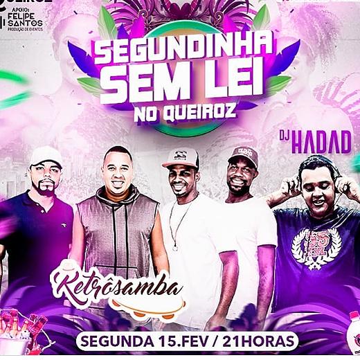 DJ HADAD FLYER / DJ HADAD E RETROSAMBA Link Thumbnail | Linktree