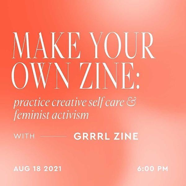 Lu   Grrrl Zine Fair Workshop + free zine making kit with Ohne Link Thumbnail   Linktree