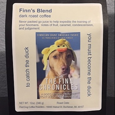 """Buy """"Finn's Blend"""" limited-run coffee from Red Dog Coffee Roasters"""