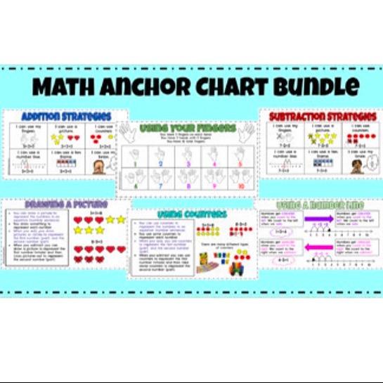 @thefirstgradecreative First Grade Math All Year Anchor Charts  Link Thumbnail   Linktree