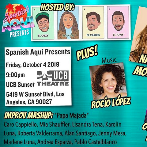 Spanish Aqui Presents Show!