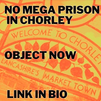 @payitbackuk EMAIL TOOL: Object to the Chorley Mega-prison  Link Thumbnail | Linktree