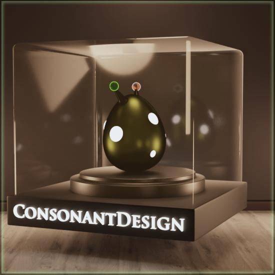 Consonant Design NFT Drops Link Thumbnail | Linktree