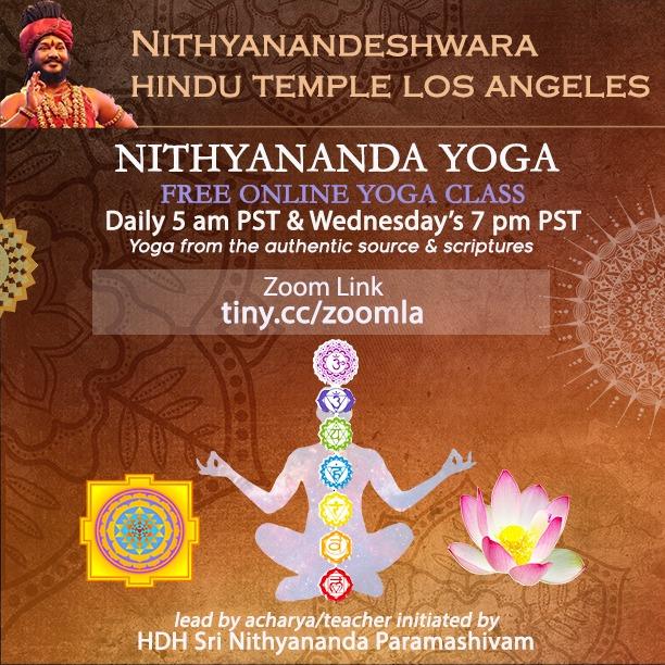 The Original Yoga Class: Wednesday's 7 pm PST