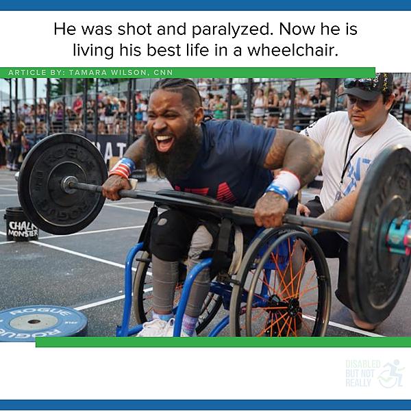 Living his best life in a wheelchair - CNN