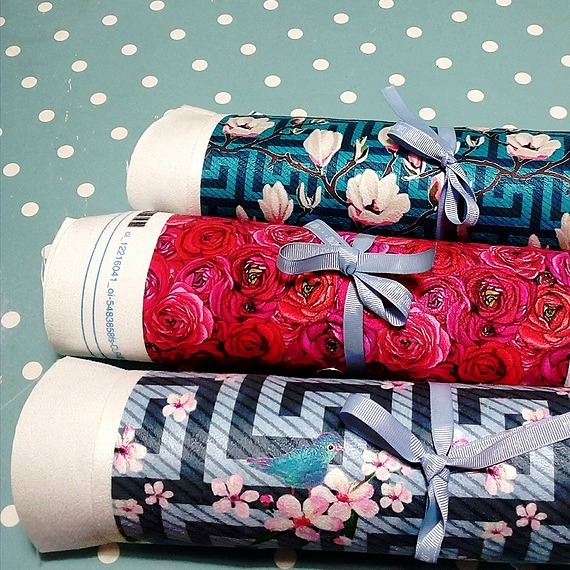 Eco Fabric & wallpaper at Spoonflower