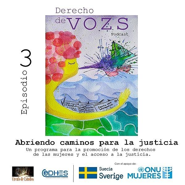 Círculo de Estudios Episodio 3 podcast #DerechoDeVozs: Herramientas psicosociales... Link Thumbnail | Linktree