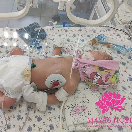 @mayashopefoundation Medicines and Consumables for a Baby Girl Link Thumbnail | Linktree