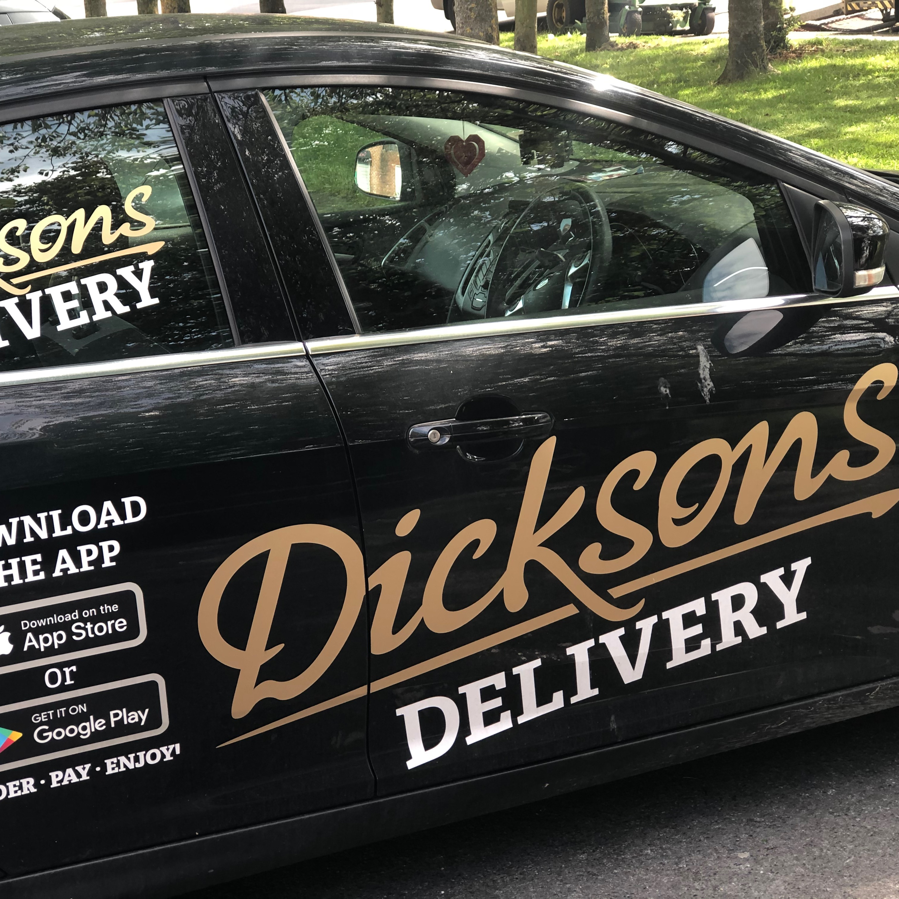 Dicksons Collection and Delivery