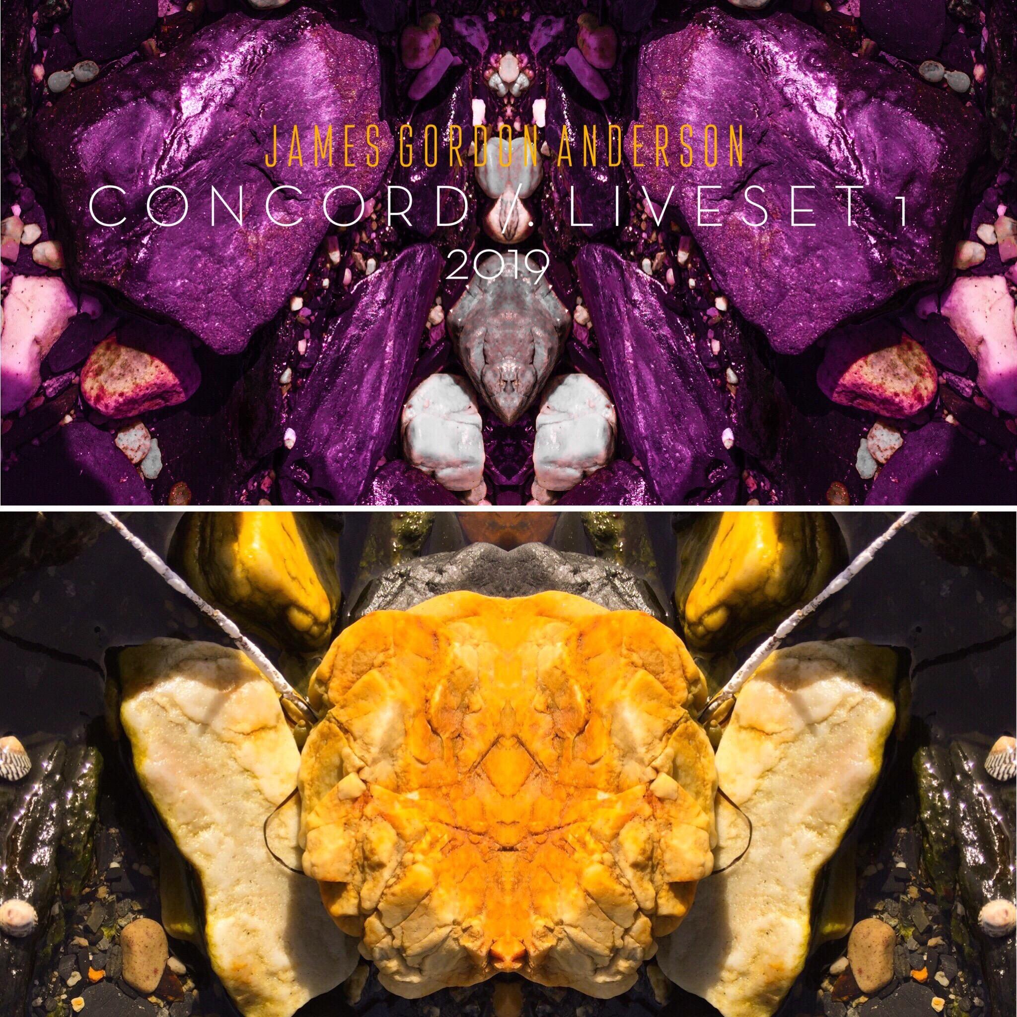 Concord - Liveset 1 (2019) - HD Video with Album Art