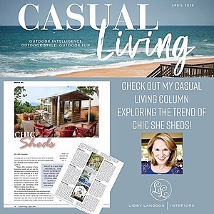 Casual Living: The She Shed Trend