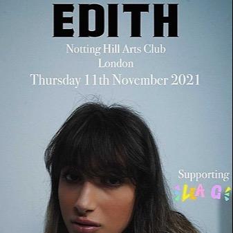 @edith 11th NOVEMBER GIG Link Thumbnail   Linktree
