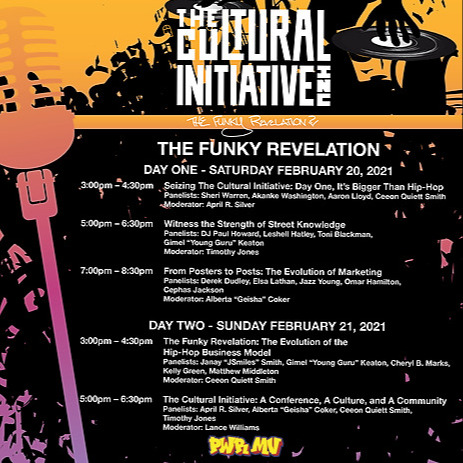 HAPPY ANNIVERSARY to THE CULTURAL INITIATIVE! S/O for Launching 30 Years of Hip Hop at Howard University. Power Move Invites Everyone to the Online Celebration (Feb. 20 - 21, 2021). Click for the Schedule and More Details!