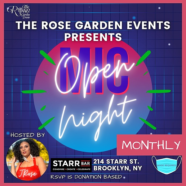 Everything JRose RSVP - Monthly Open Mic Nights in Brooklyn Link Thumbnail   Linktree