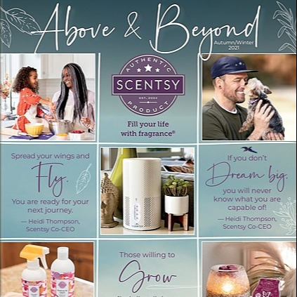Safely Scented New Autumn / Winter Catalogue Link Thumbnail | Linktree