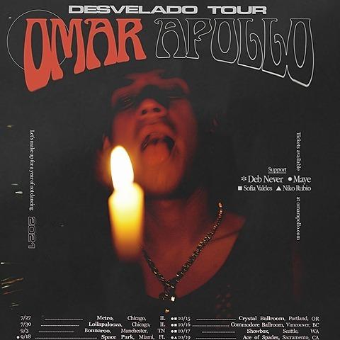 @omarapollo DESVELADO TOUR Link Thumbnail | Linktree