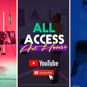 All Access Art Show All Access Art House - YouTube Link Thumbnail   Linktree