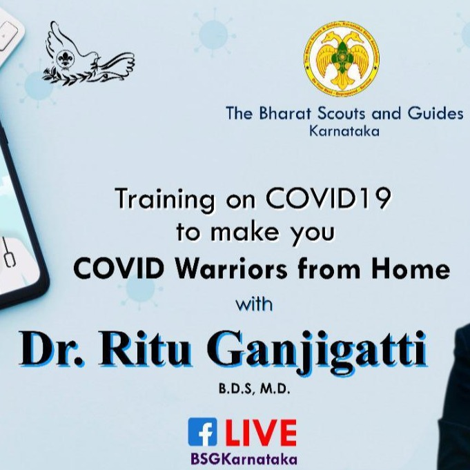 Become Covid Warriors from Home - A Training by Dr. Ritu Ganjigatti